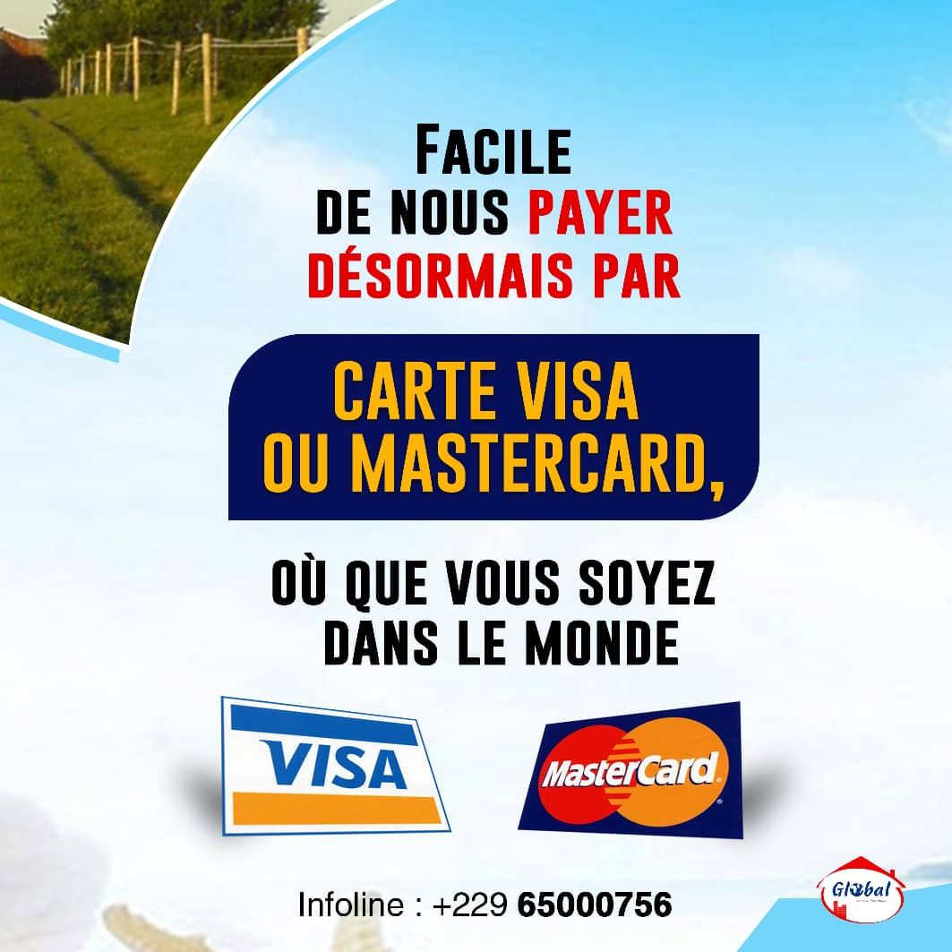 paiment par carte visa
